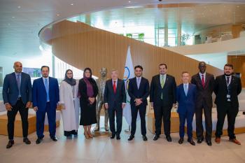 الفيصل يزور الأولمبية الدولية ويجتمع بتوماس باخ